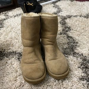 Sand Classic UGG boots
